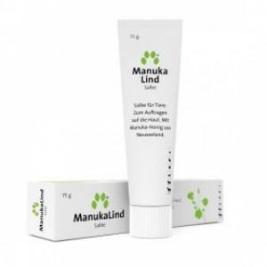 Inuvet ManukaLind  dabiska Manuka medus ziede visu veidu ādas bojājumiem  75g