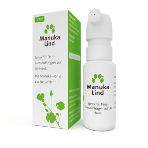Inuvet ManukaLind  spray  Manuka medus aerosols visu veidu ādas bojājumiem 30ml