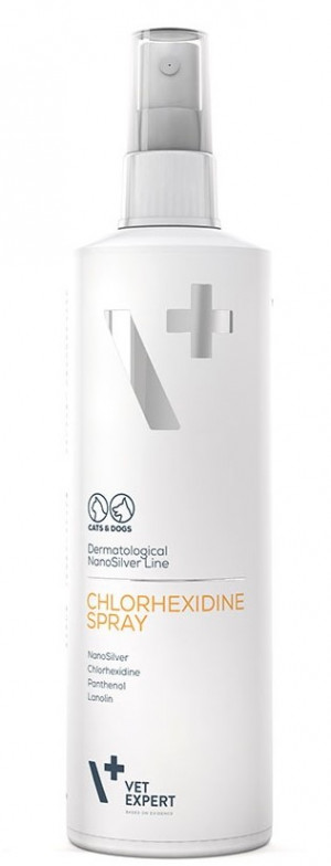 VetExpert  Dermatological NanoSilver Line  CHLORHEXIDINE SPRAY   100ml