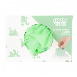 ShowTech Plastic Wraps Green (15x30cm) 100gab - zaļas ietinamās plēves