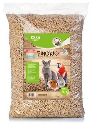 COMFY Pinokio Premium  - absorbējošas granulas dzīvnieku tualetēm 35L