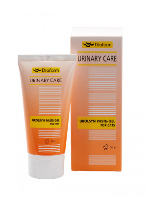 Diafarm URINARY CARE UROLSYN PASTE-GEL FOR CATS 50g