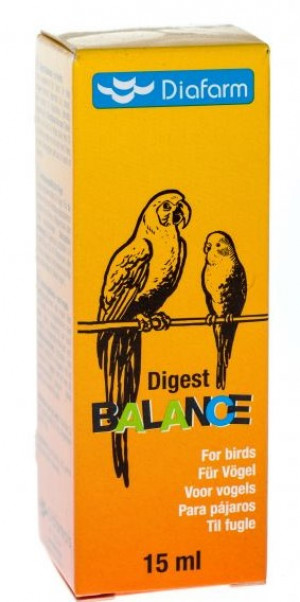 Diafarm DIGEST BALANCE FOR BIRDS putniem  15ML