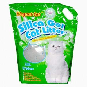 ELEGANT CAT Silica Gel - absorbējošas smiltis kaķu tualetei 10L