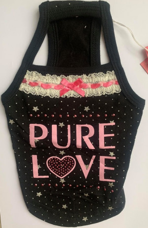 Pinkaholic - krekliņš suņiem ''Pure Love''