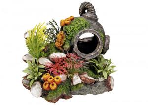 """NOBBY Aqua Ornaments """"HELMET"""" - dekorācija akvārijam"""