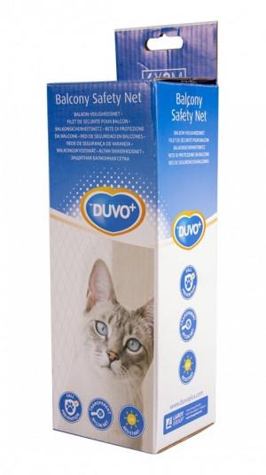 Duvo+ Balcony Safety Net - balkona aizsargtīkls kaķiem