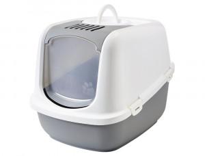 NOBBY Nestor Jumbo - tualete kaķiem, pelēka