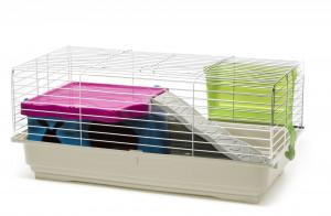 Comfy Cage Banny Plus 1 - būris grauzējiem 80 x 40,5 x 34 cm