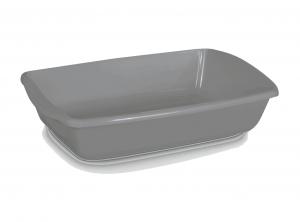 Comfy Cleo Classic Grey - tualete kaķiem, pelēka