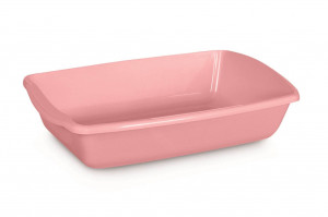 Comfy Cleo Classic Pink - tualete kaķiem, rozā