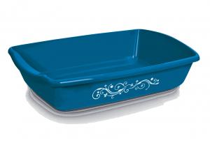 Comfy Cleo Decoline Blue - tualete kaķiem, zila