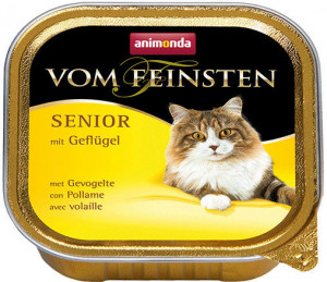 Animonda Senior pastēte kaķiem - mājputnu gaļa 8 x 100g