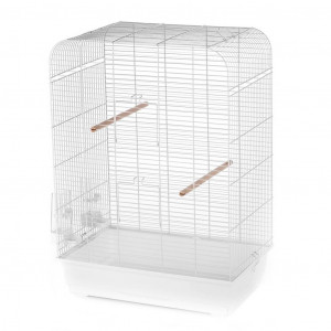 Duvo+ Nina white - būris putniem 54 x 34 x 75cm