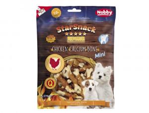 NOBBY StarSnack MINI Chicken Calcium Bone - gardums suņiem 375g