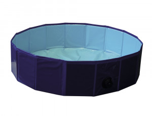 NOBBY Suņu baseins Ø 80 x 20cm, zils