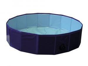 NOBBY Suņu baseins Ø 120 x 30 cm, zils