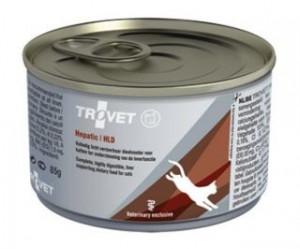 TROVET Hepatic Cat /HLD - konservi kaķiem 85g
