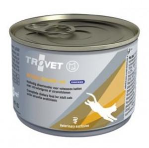 TROVET Urinary Struvite /ASD with Chicken - konservi kaķiem 6 x 175g