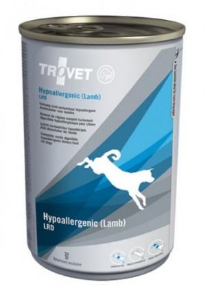 TROVET Hypoallergenic Dog /LRD with Lamb - konservi suņiem 400g