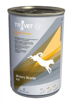 TROVET Urinary Struvite Dog /ASD - konservi suņiem 6 x 400g