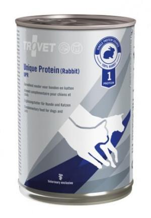 TROVET Unique Protein Dog, Cat /UPR - konservi suņiem un kaķiem 400g
