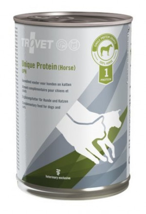 TROVET Unique Protein Dog, Cat /UPH - konservi suņiem un kaķiem 400g