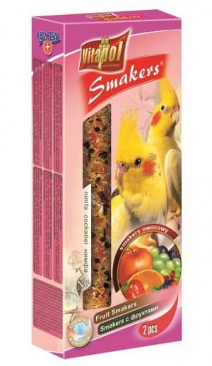 VITAPOL - augļu nūjiņa vidējiem papagaiļiem 90g
