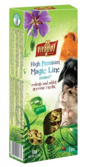 VITAPOL Magic Line - gurķu nūjiņa grauzējiem / trušiem 90g