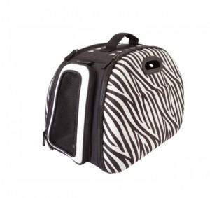 Innopet Zebra - transportēšanas soma dzīvniekiem 45 x 28 x 28.5 cm