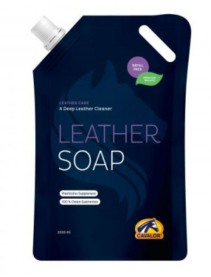 CAVALOR Leather Soap - ziepes ādas izstrādājumu kopšanai 2L