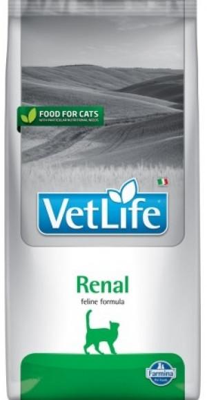 FARMINA VET LIFE Cat Renal - sausā barība kaķiem 10kg