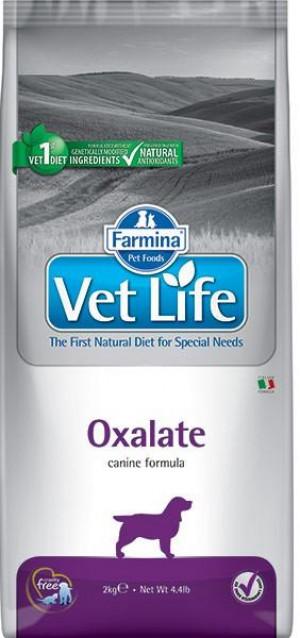 FARMINA VET LIFE Dog Ossalati - sausā barība suņiem 12kg