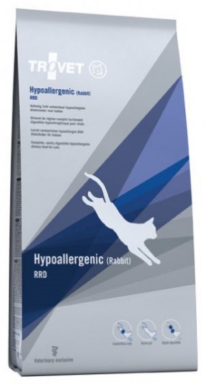 TROVET Hypoallergenic Cat /RRD with Rabbit - sausā barība kaķiem 3kg