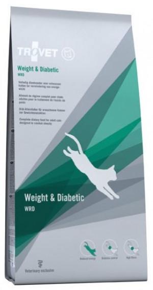TROVET Weight & Diabetic Cat /WRD - sausā barība kaķiem 3kg