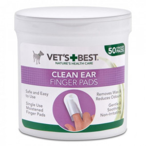 VET'S+BEST CLEAN EAR salvetes N50