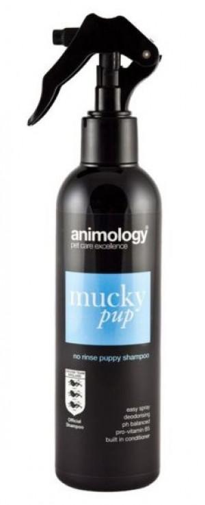 ANIMOLOGY Shampoo Mucky Pup No Rinse - izsmidzināms šampūns kucēniem 250ml