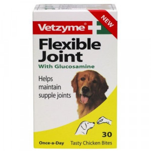 VETZYME FLEXIBLE  JOINT with Glucosamine N30