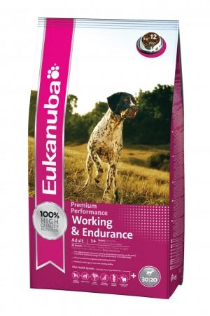 Eukanuba Working & Endurance - suņiem ar paaugstinātu aktivitātes līmeni 15kg