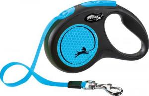 Flexi New Neon S 5m zila (lenta)
