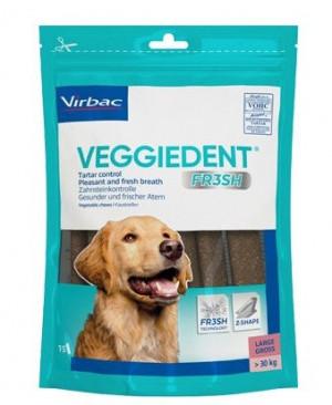 VIRBAC Cet Chew Veggie Dent FR3SH papildbarība suņiem virs 30 kg L N15