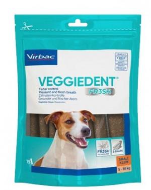 VIRBAC Cet Chew Veggie Dent FR3SH papildbarība suņiem 5-10 kg S N15