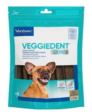 VIRBAC Cet Chew Veggie Dent FR3SH papildbarība suņiem līdz 5 kg XS N15