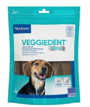 VIRBAC Cet Chew Veggie Dent FR3SH papildbarība suņiem 10-30 kg M N15