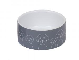 """NOBBY """"Dogs"""" - keramikas bļoda suņiem"""