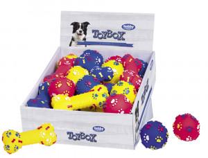 NOBBY ''Classic'' - vinila rotaļlieta suņiem kauls / bumbiņa