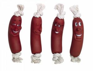 NOBBY ''Vinyl Sausage'' - vinila rotaļlieta suņiem