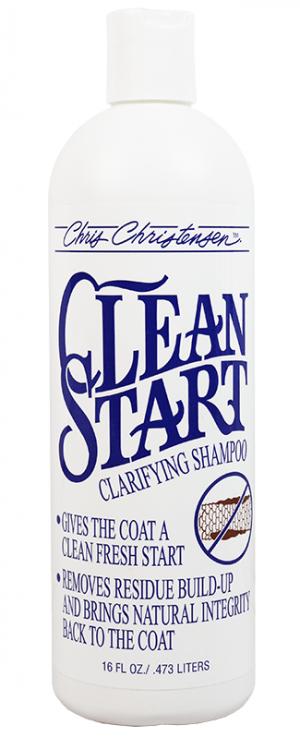 CHRIS CHRISTENSEN Clean Start Clarifying Shampoo - šampūns suņiem un kaķiem 473ml