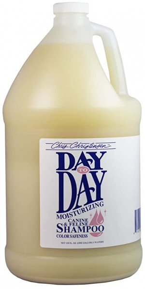CHRIS CHRISTENSEN Day to Day Shampoo - šampūns suņiem un kaķiem 3,78 L