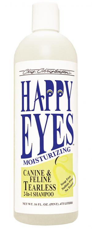 CHRIS CHRISTENSEN Happy Eyes Tearless 2 in 1 Shampoo - šampūns suņiem un kaķiem 473ml